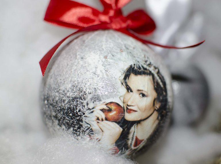 новогодние шары с фотографиями на заказ фото наиболее выигрышной