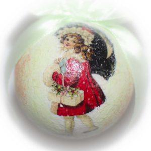 печать изображения на елочных игрушках