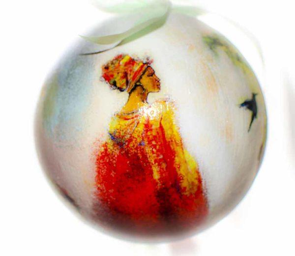 елочный шар новый год