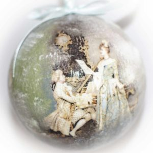 новогодний шар елочная игрушка