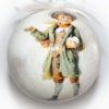 елочный шар мальчик со снежком