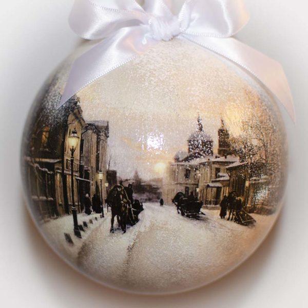 городские пейзажи Москвы подарок