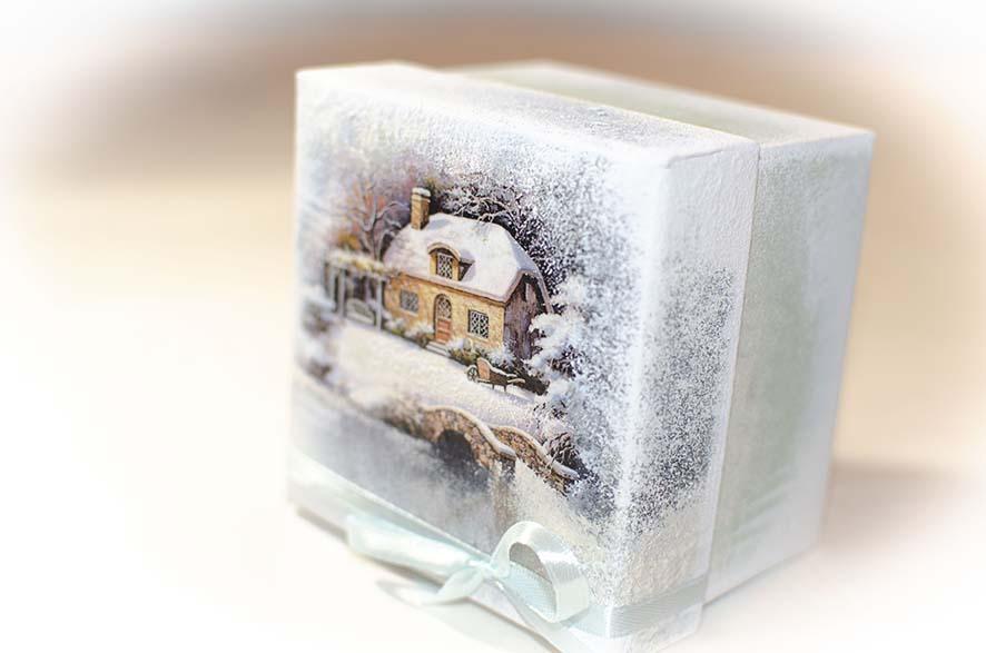 новогодние коробки для подарков
