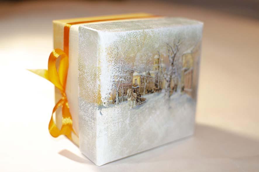 купить красивую коробку для подарка
