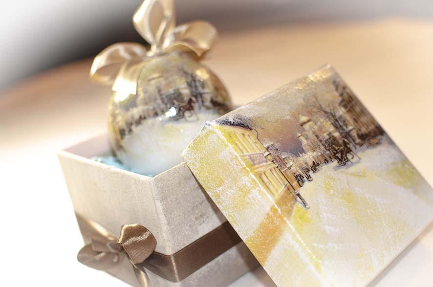 коробки под елку новогодние