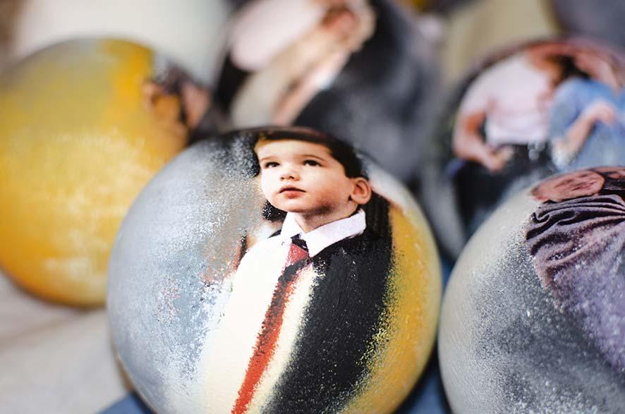 шары с фото