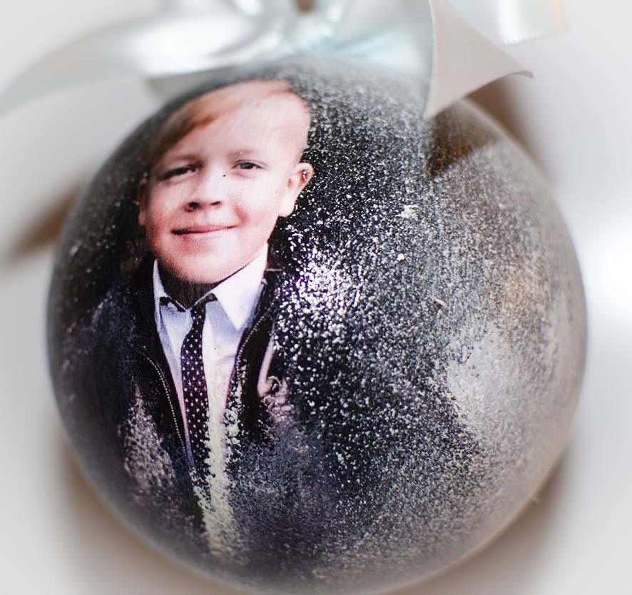 Елочные шары с фотографиями