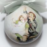 елочный шар детки