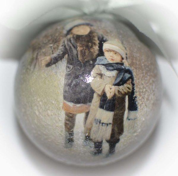 новогодняя игрушка шары
