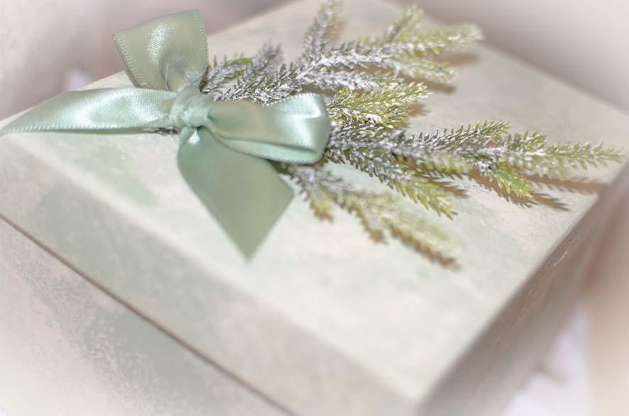 подарочная упаковка для набора елочных шаров