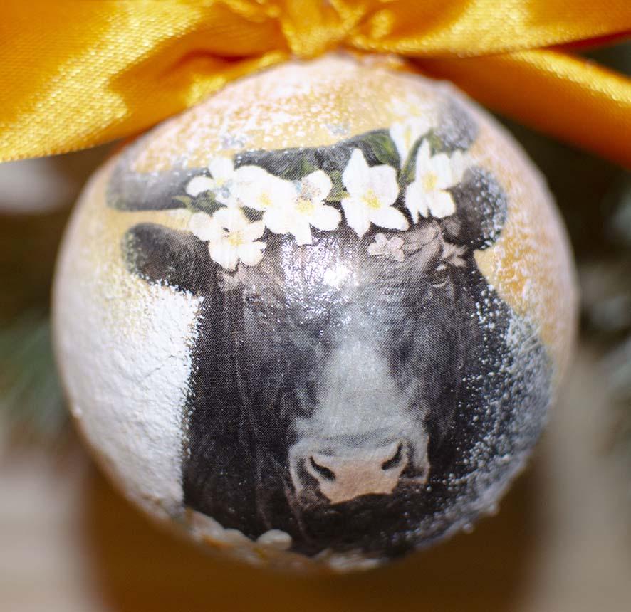 Корова символ года