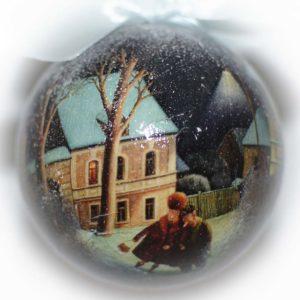 елочный шар после новогоднего бала