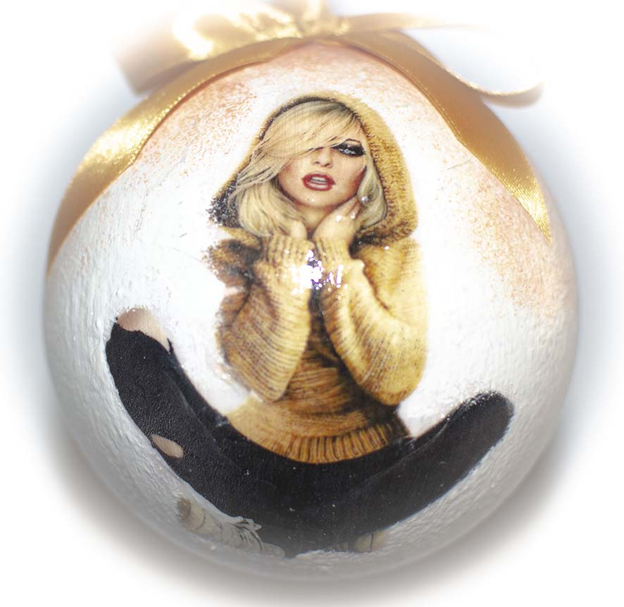 Елочные шары с рисунком