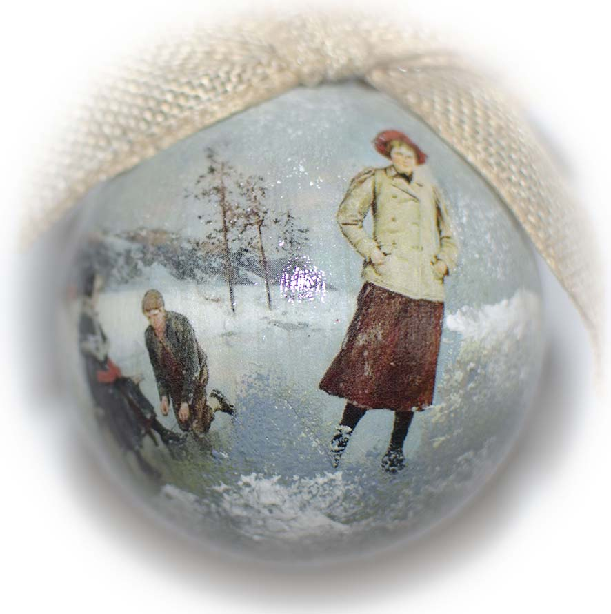 елочный шар фото