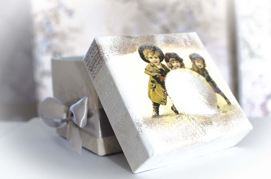 изготовление подарочных коробок
