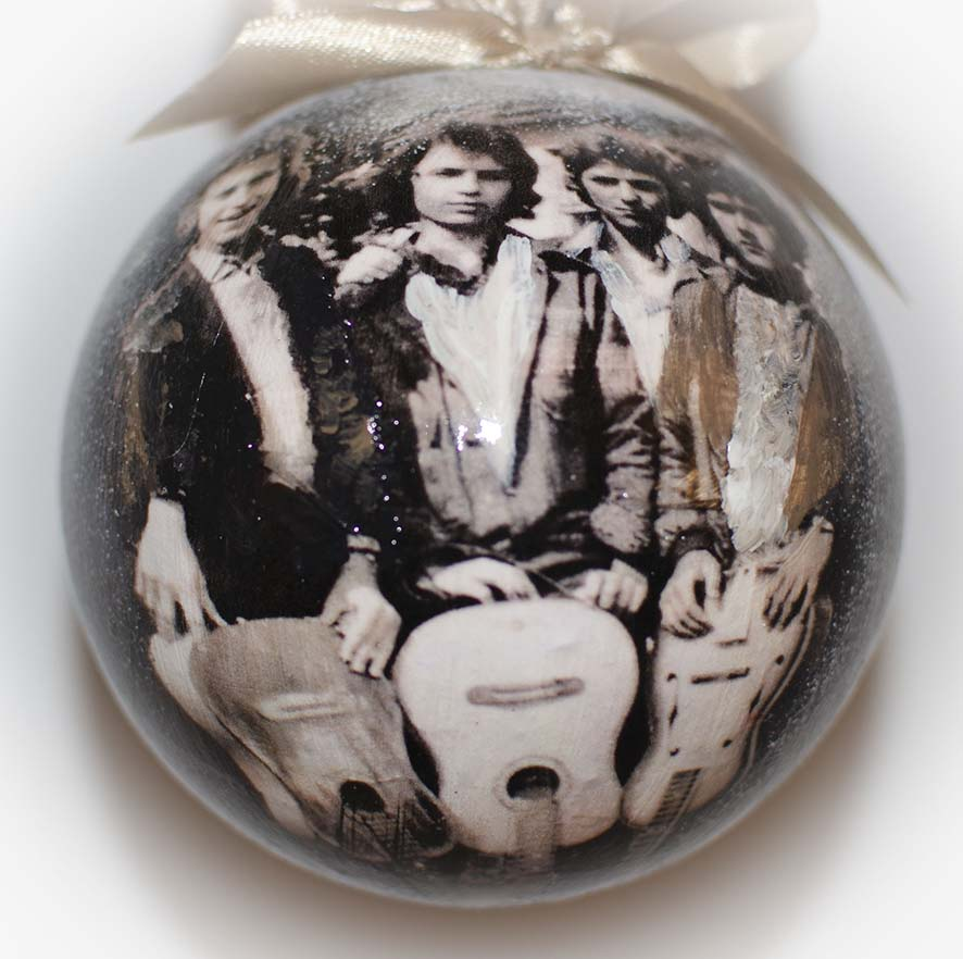 фотографии новогодних шаров