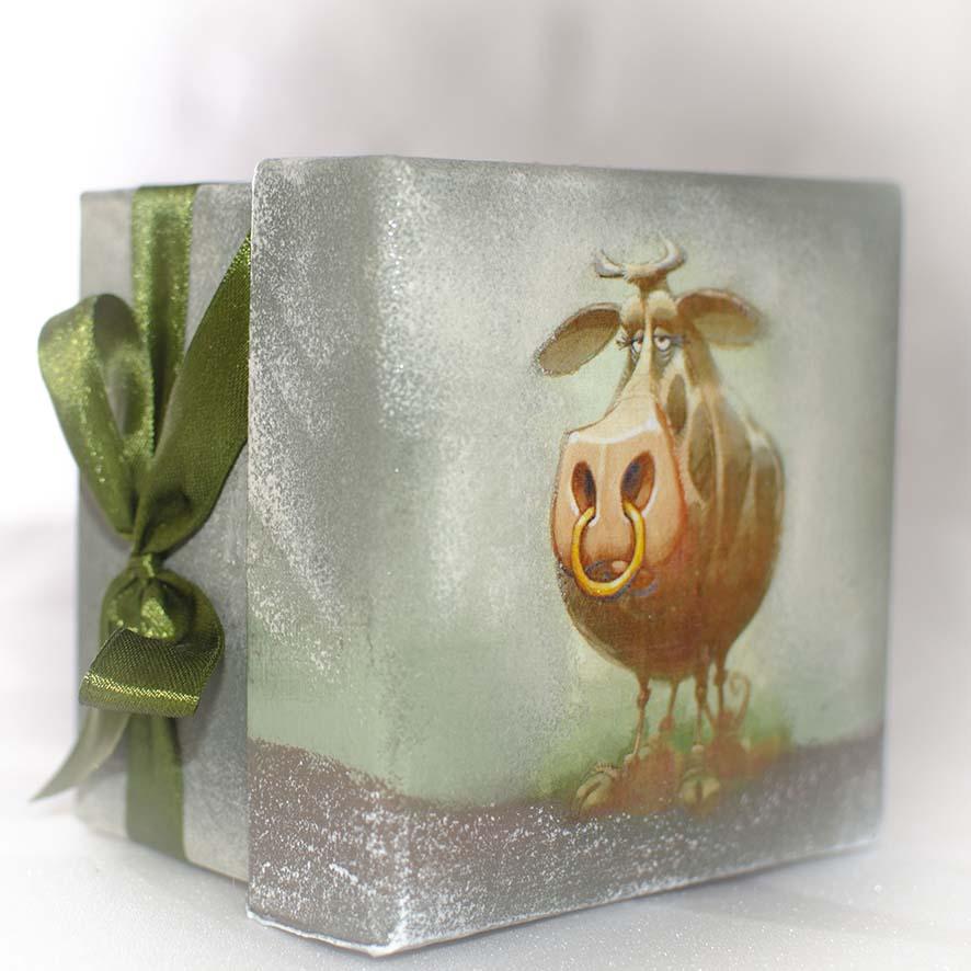 новогодние подарки год быка
