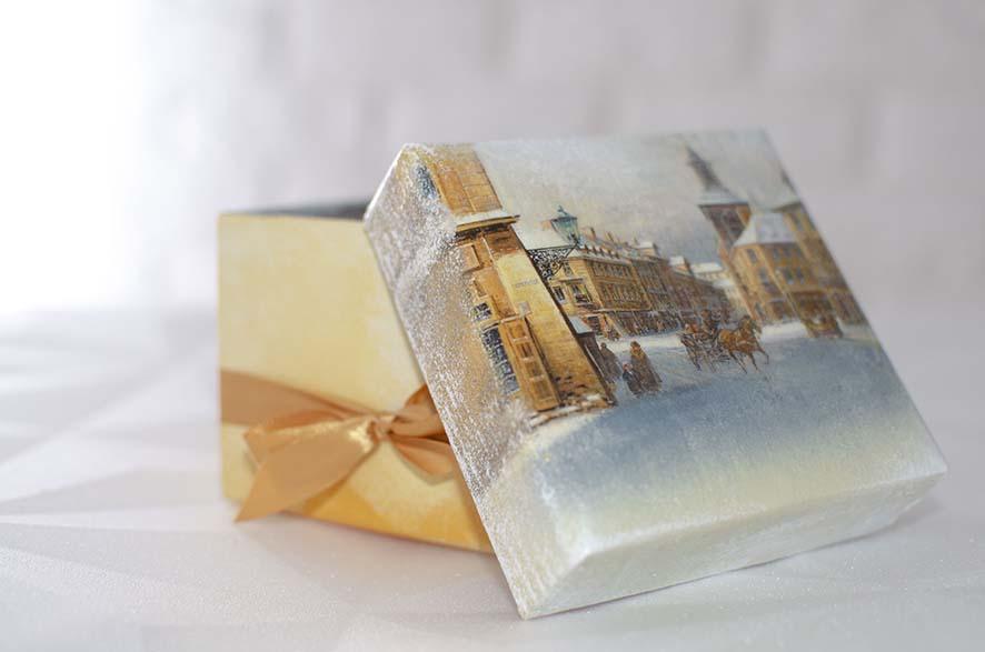 подарочные коробки с крышкой купить